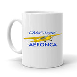Aeronca 11ACS Chief Scout Airplane Ceramic Mug - Personalized with N#