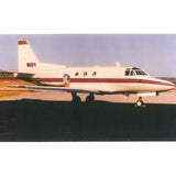 Rockwell Sabreliner 40 (Red) Airplane Design