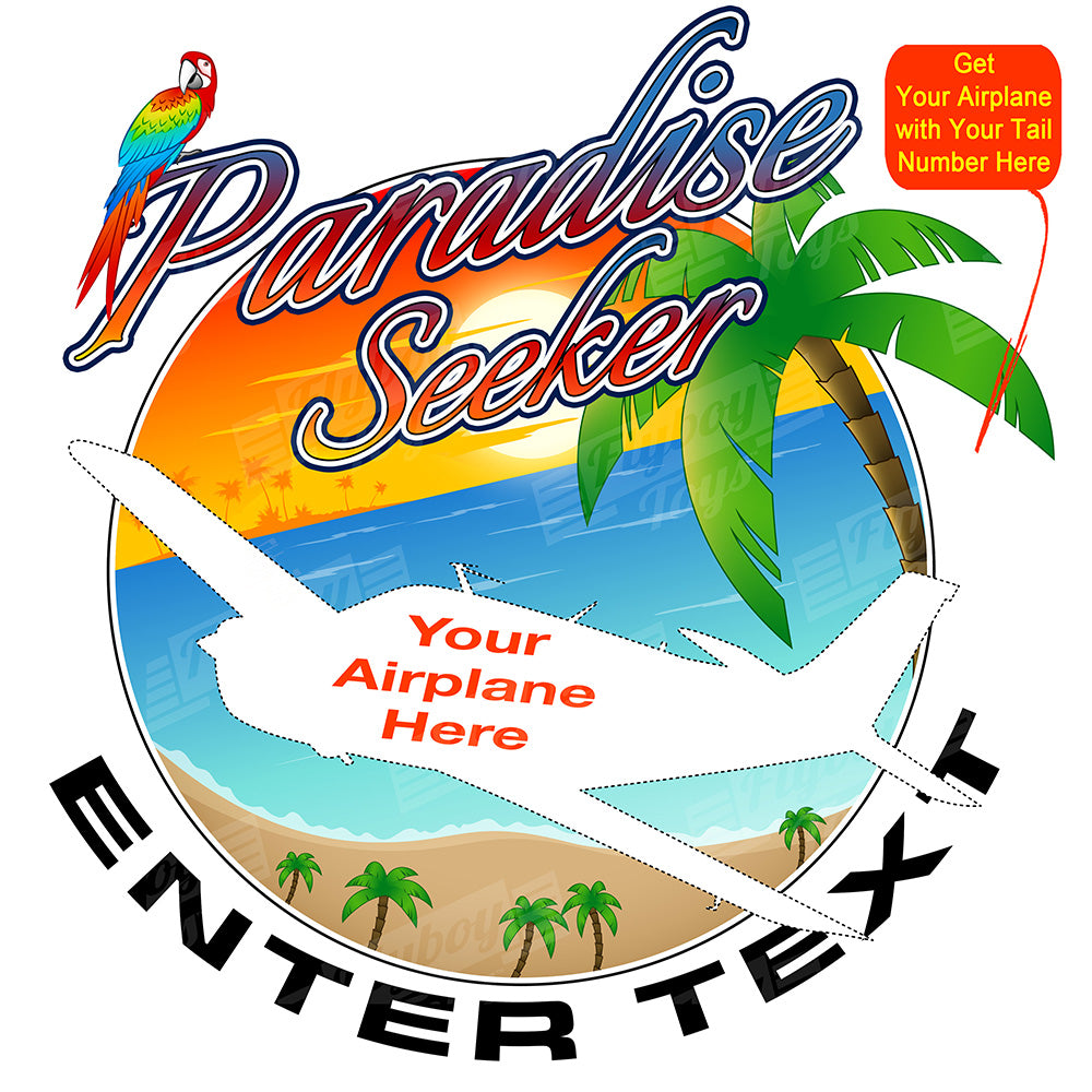 Paradise Seeker Airplane Theme
