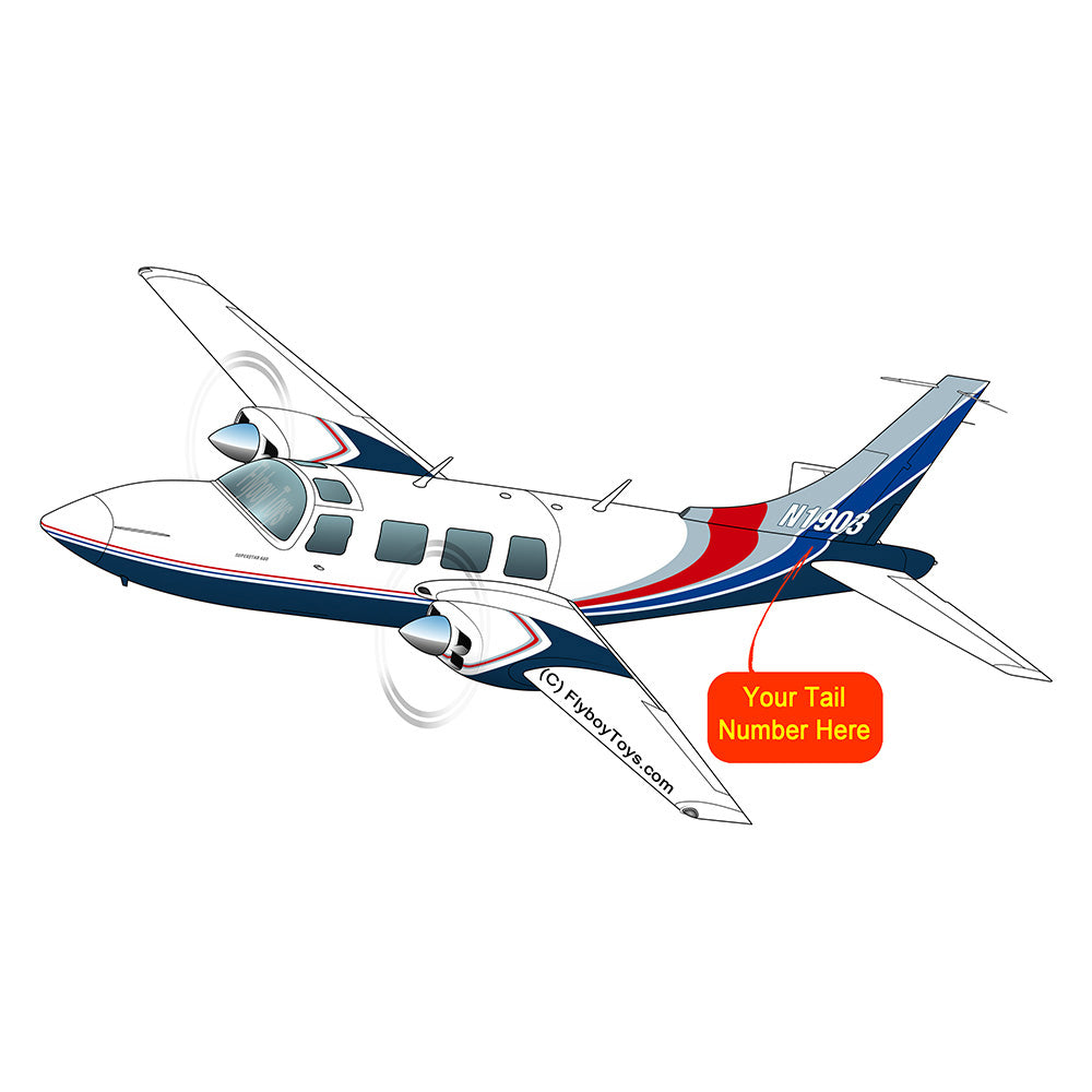 Airplane Design (Blue/Silver/Red) - AIRG9G15I601P-BSR1