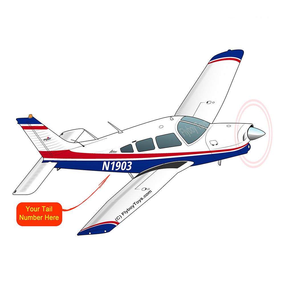 Airplane Design (Red/Blue) - AIRG9G1II-RB2