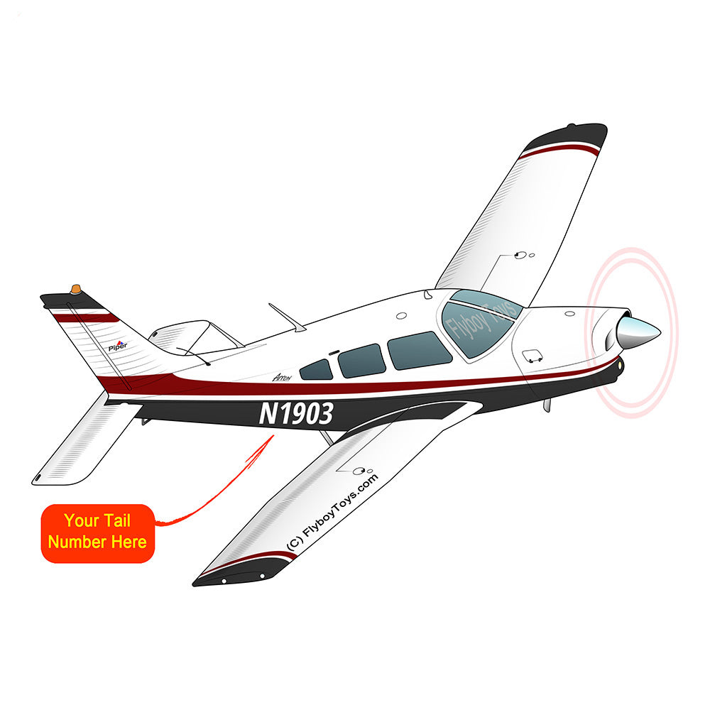Airplane Design (Red/Black) - AIRG9G1II-RB1