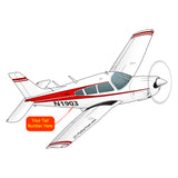 Airplane Design (Red) - AIRG9G1II-R1