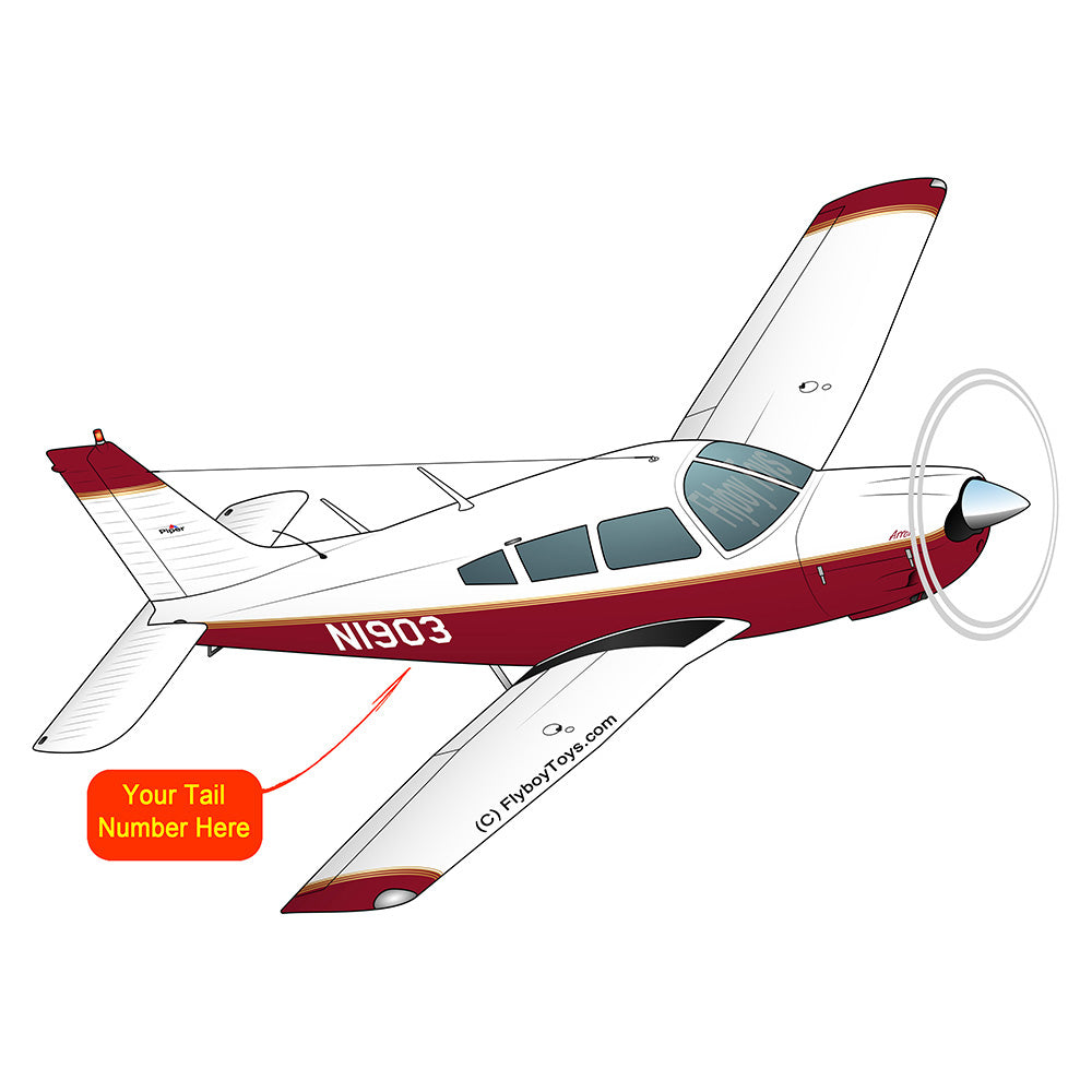 Airplane Design (Burgundy) - AIRG9G1II-BURG1