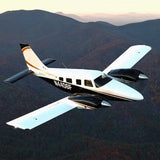 Piper Seneca PA-34-220T (Black/Gold) Airplane Design