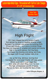 HD Airplane SIGN-HIGHFLIGHT-AIR2552FEC35-RB1 - Personalized with Your N#