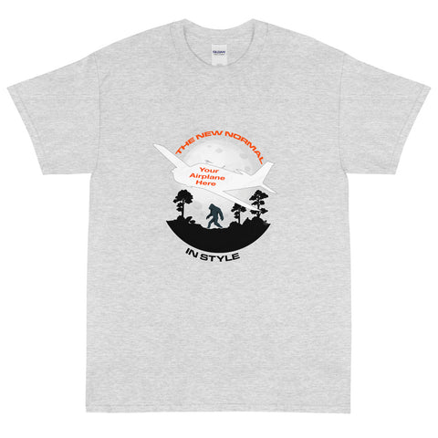 The New Normal Airplane Theme T-Shirt - Personalized w/ Your Airplane
