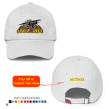 STOL Life Airplane Embroidered Baseball Cap - Personalized with Your N#