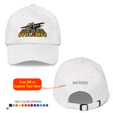 STOL LIFE Airplane Embroidered Classic Cap - Personalized with Your N#