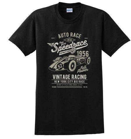 Speedrace Auto Car Vintage T-Shirt