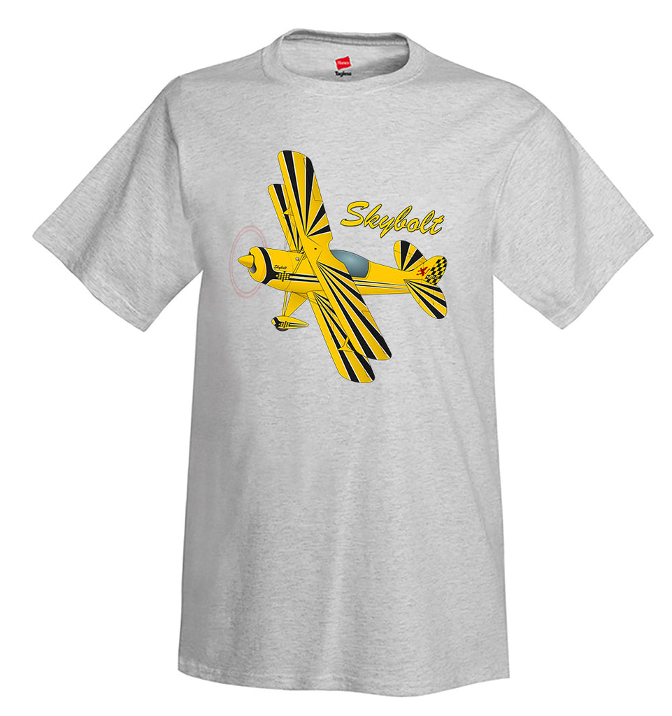 Steen Aero Skybolt Airplane T-Shirt - Personalized w/ Your N#