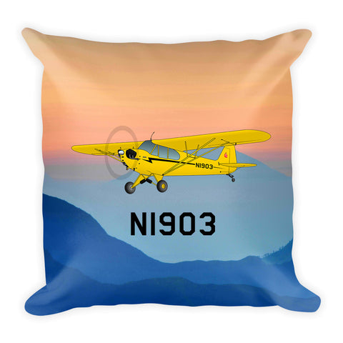 Airplane Custom Throw Pillow Case Stuffed & Sewn AIRG9G3L2J3-Y2