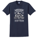 Super Racer Vintage Motorcycle T-shirt