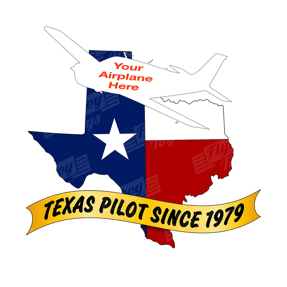 Texas Pilot Airplane Theme