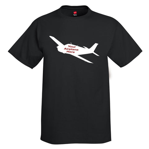 Custom Aviation T-shirt - Personalized w/ your Airplane Aircraft