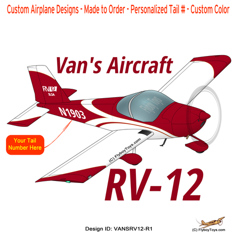 Van's Aircraft RV-12 (RV12 Red) Airplane Design