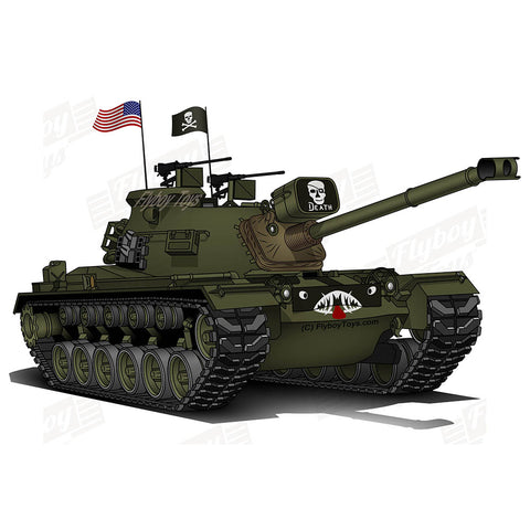 War Tank Design (The Grim Reaper)- WARTANKM48A3