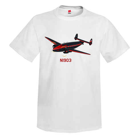 Airplane T-Shirt AIRCF3CF418-RB1 - Personalized with Your N#
