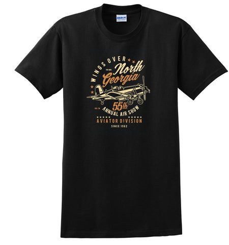 Wings Over North Georgia Airplane Aviation T-Shirt