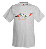 Sikorsky S-70 Helicopter T-Shirt - Personalized with Your N#