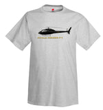 Airbus AS355 F1 Helicopter T-Shirt - Personalized with Your N#