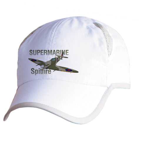 Supermarine Spitfire Airplane Pilot Hat - Personalized with N#