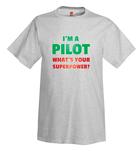 I'm a Pilot I Airplane Aviation T-Shirt