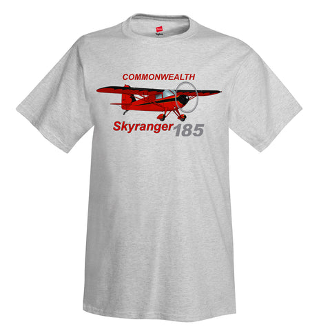 Commonwealth Skyranger 185 Airplane T-Shirt - Personalized with Your N#