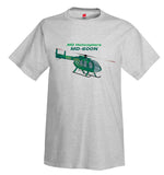 MD Helicopters MD-600N (Green) Helicopter T-Shirt - Personalized w/ Your N#