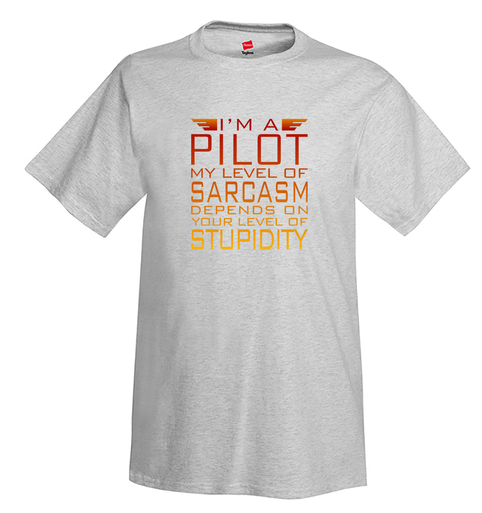 Im a Pilot II Airplane Aviation T-Shirt