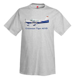 Grumman Tiger AG5B Airplane T-Shirt - Personalized with Your N#