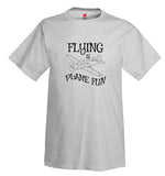 Flying Is Plane Fun Airplane Aviation T-Shirt