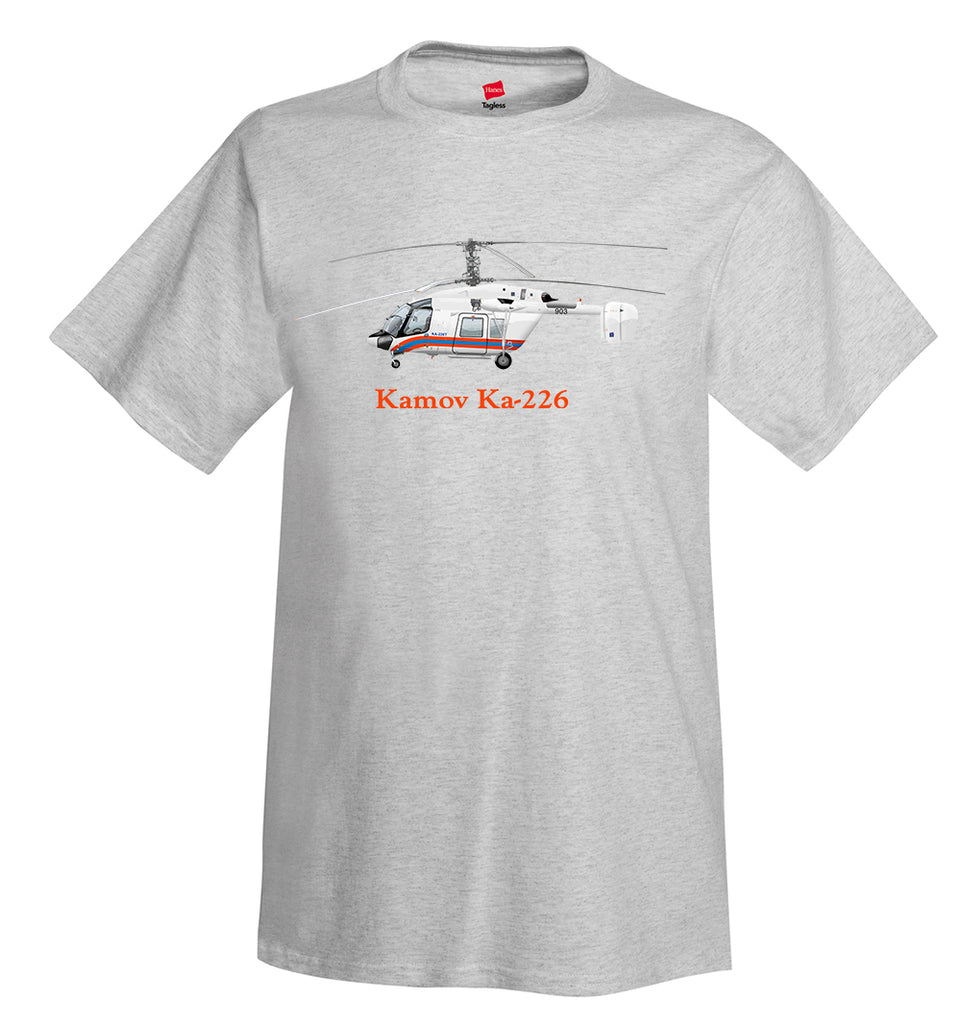 Kamov Ka-226 Helicopter T-Shirt - Personalized with Your N#