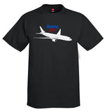Boeing 777 Airplane T-Shirt - Personalized with Your N#