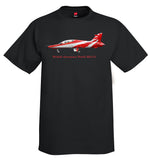 British Aerospace Hawk Mk132 Airplane T-Shirt - Personalized with Your N#