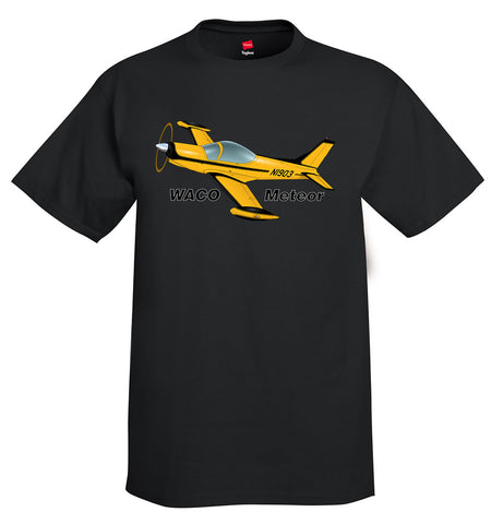 Waco Meteor SF.260 Airplane T-Shirt - Personalized with Your N#