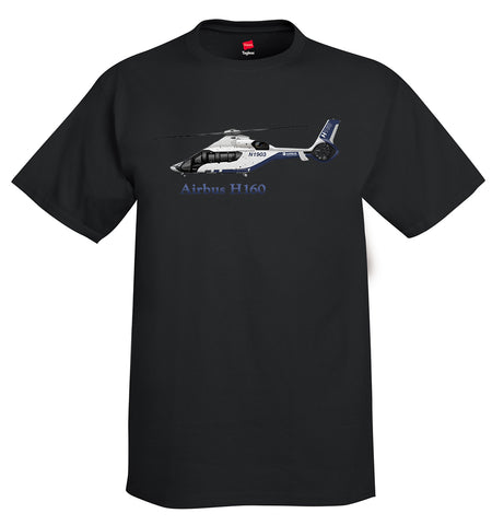 Airbus H160 Helicopter T-Shirt - Personalized with Your N#