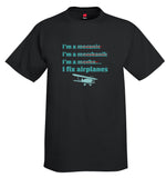 I Fix Airplanes Airplane Aviation T-Shirt