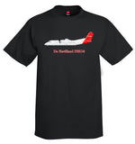 De Havilland Canada DHC-8 Airplane T-Shirt - Personalized with Your N#