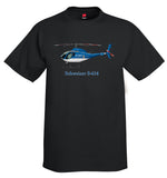 Schweizer S-434 Helicopter T-Shirt - Personalized with Your N#