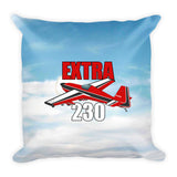 Extra 230 Airplane Throw Pillow Case Stuffed & Sewn