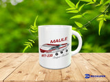 Maule MT7-235 Super Rocket (Red/Silver) Airplane Ceramic Mug - Personalized with N#