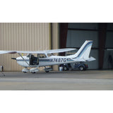 Cessna 172 Skyhawk (Blue #9) Airplane Design