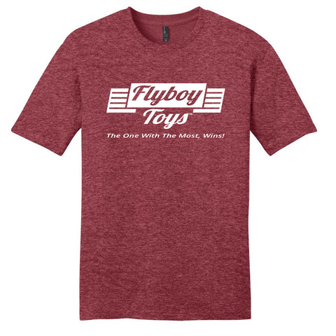 Flyboy Toys The One With The Most, Wins! T-shirt (White Logo)