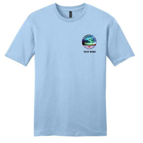 Northern Flights Airplane Customized T-Shirt