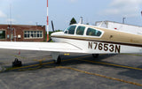 Beechcraft Bonanza V35A Brown model 2