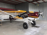 Aviat Husky A1-C (Yellow/Burgundy) Airplane Design
