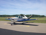 Beechcraft Bonanza H35 Blue model 1