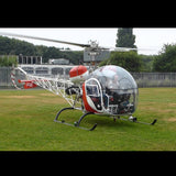 Bell 47 (Red) Helicopter Design
