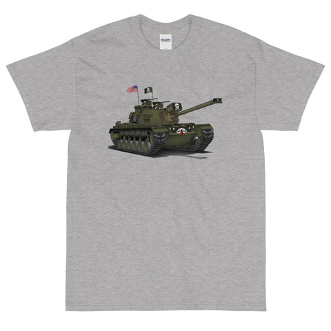 "War Tank Design ""The Grim Reaper"" M48A3 T-Shirt"
